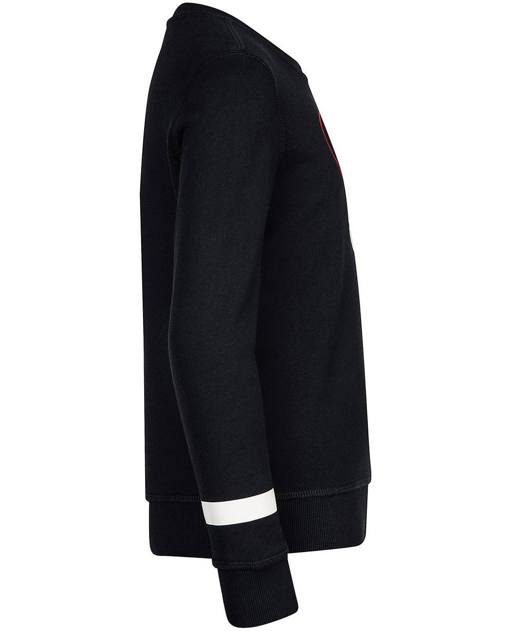 Sweater - Navy - Sweater mit Reliefprint